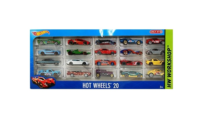 Hot Wheels 20 Car Gift Pack (Open Box) for $8.79 at Blinq
