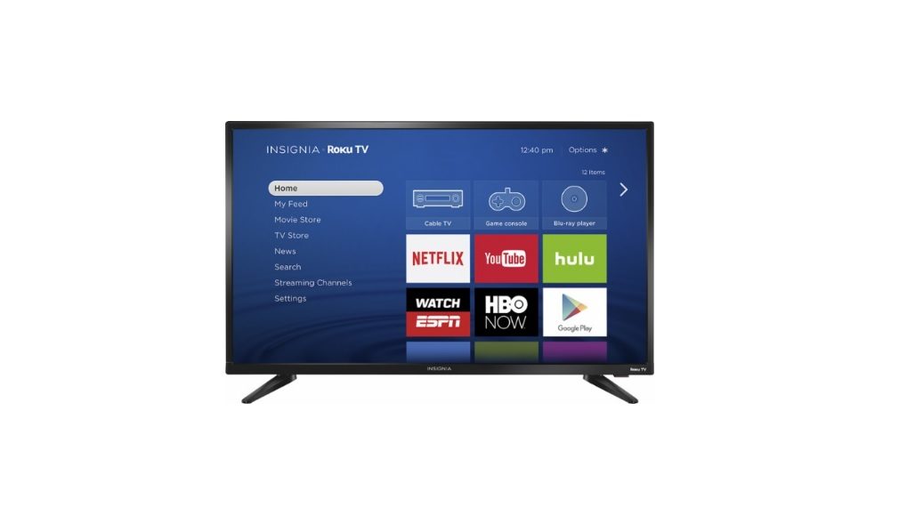 "Insignia NS-32DR310NA17 32"" 720p Smart Roku LED TV for $99.99 at Bestbuy"