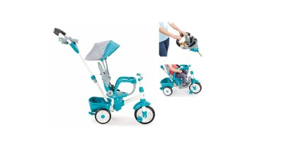 Little Tikes Perfect Fit 4in1 Trike Teal