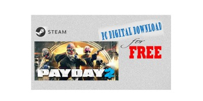 PAYDAY 2 – PC Digital Download for FREE
