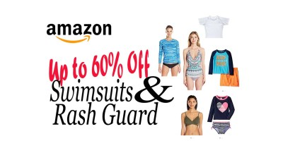 Up to 60% Off Swimsuits & Rash Guards