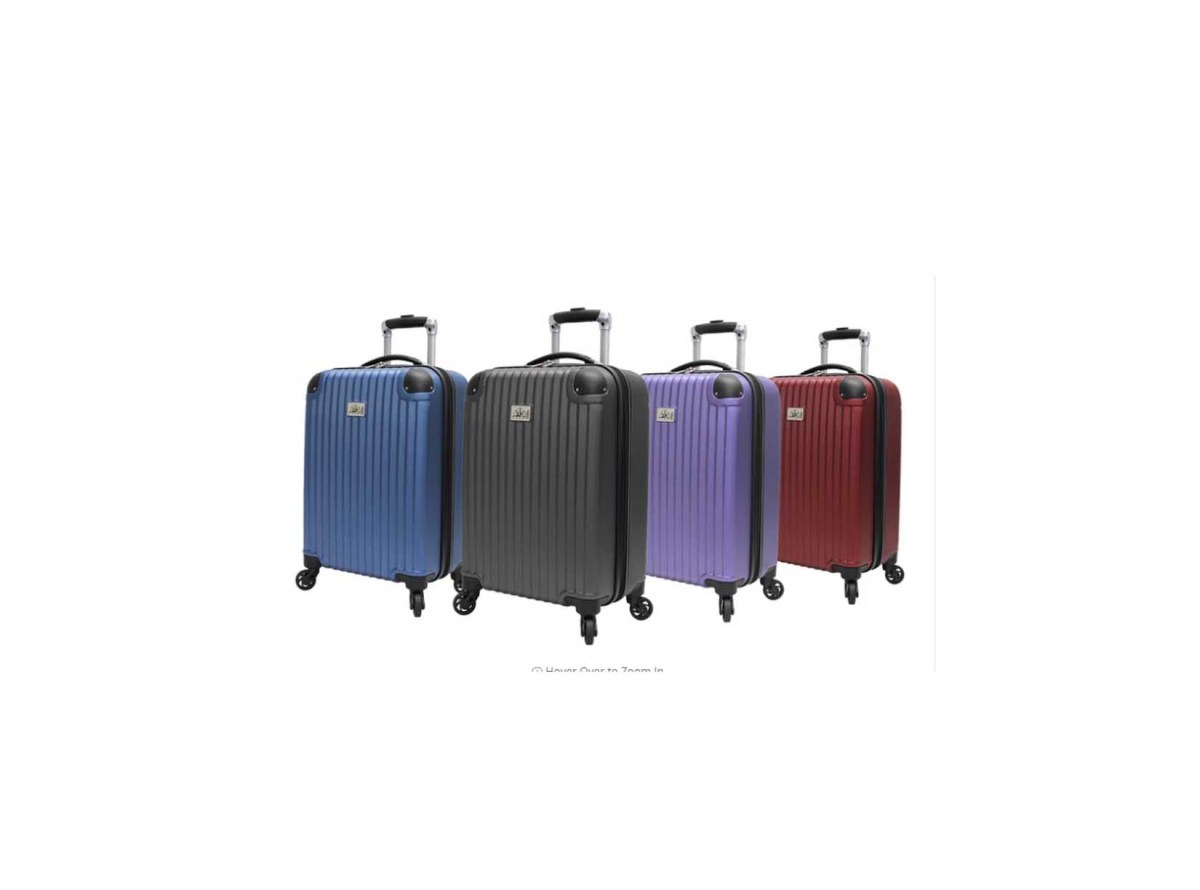 "Verdi 21"" Hardside Spinner Carry-On Luggage starting from $22.99 at Groupon"