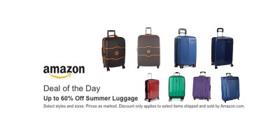 Shop and Save up to 60% off Summer Luggage Shop and Save up to 60% off Summer Luggage