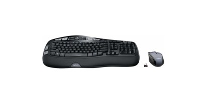 Logitech – MK570 Comfort Wave Wireless Keyboard and Optical Mouse