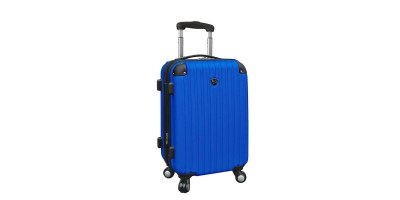 "Travelers Club Luggage Chicago 20"" Hardside Exp. Hardside Carry-On"