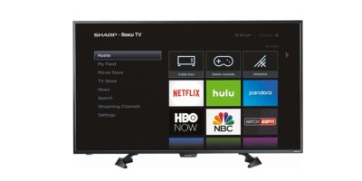 Sharp – 43 Class (42.5 Diag.) – LED – 1080p – Smart – HDTV – Roku TV