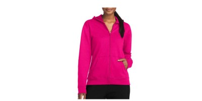Hanes Women's Fleece Full Zip Hoodie