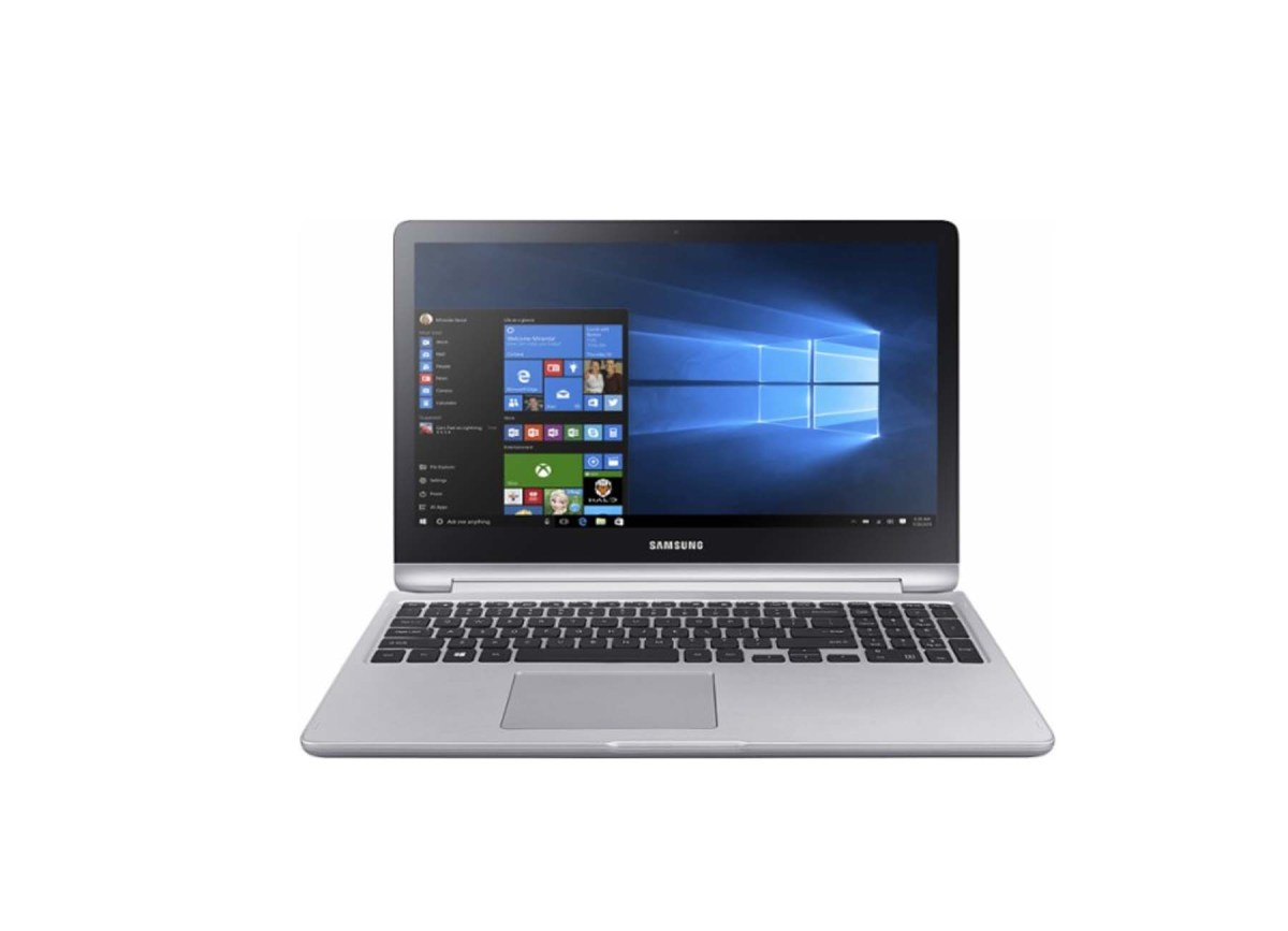 "Samsung 2-in-1 15.6"" Touch-Screen Laptop Intel Core i7 12GB Memory NVIDIA GeForce 940MX 1TB Hard Drive for $799.99 at Best Buy"