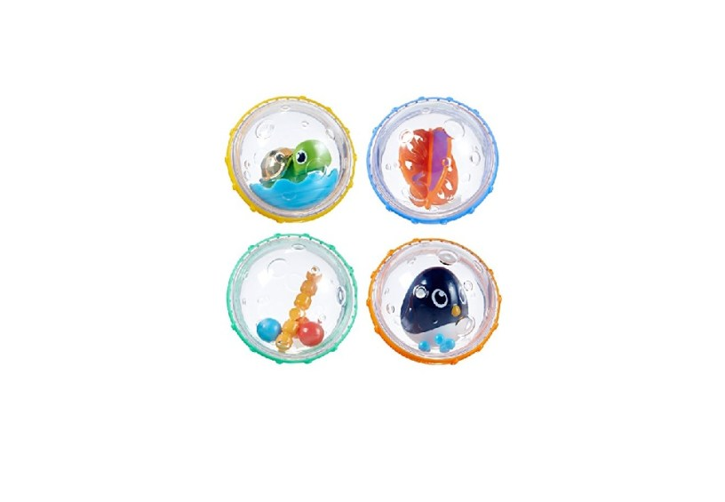 Munchkin Float and Play Bubbles Bath Toy (4 Count)