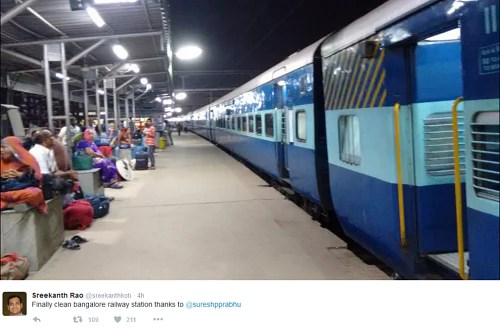 indian railways clean india