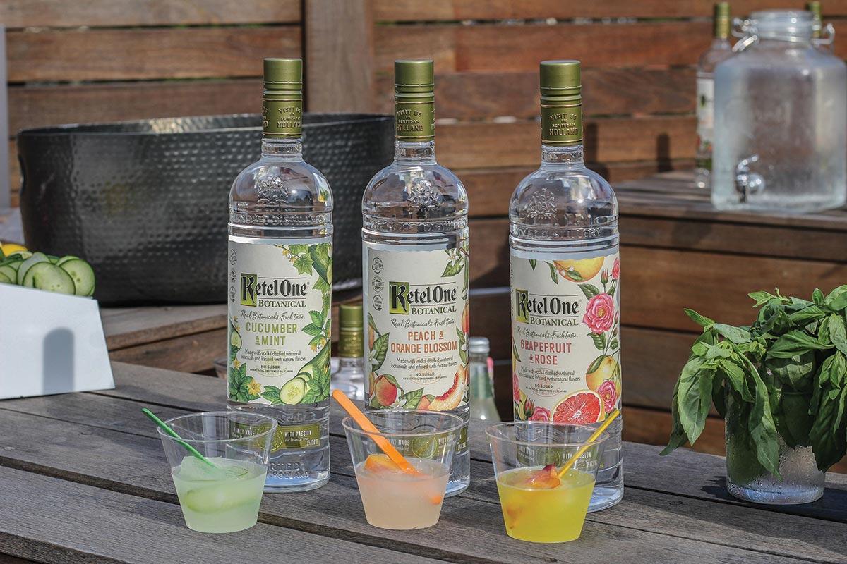 Unusual Mediterraneo On August Diageo Hosts Summer Event Featuring Ketel One Botanical Diageo Hosted A Happy Hour Lighting Ketel One Botanical Productline On Roof nice food Ketel One Botanicals