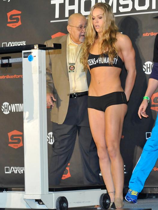Ronda_Rousey booty shorts