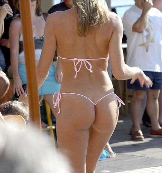 T Back Thong Bikini