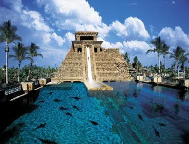 mayan temple Bahamas