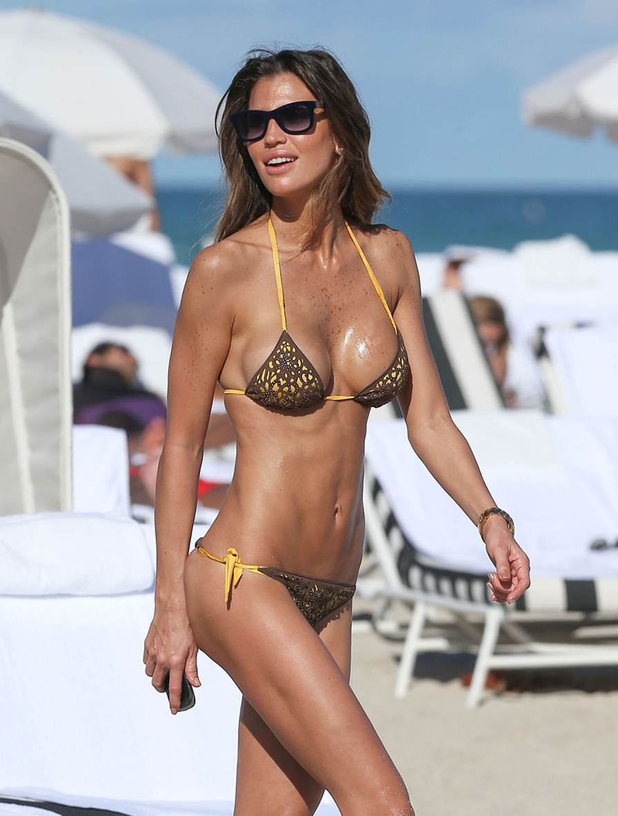 Claudia Galanti-Braided-String-Thong