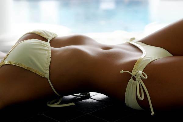 Bikinis For Women with Smaller Chests Sheer Yellow String Bikini