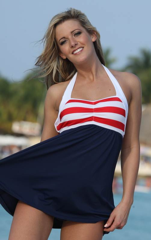 Bikinis For Women with Smaller Chests Swimdress