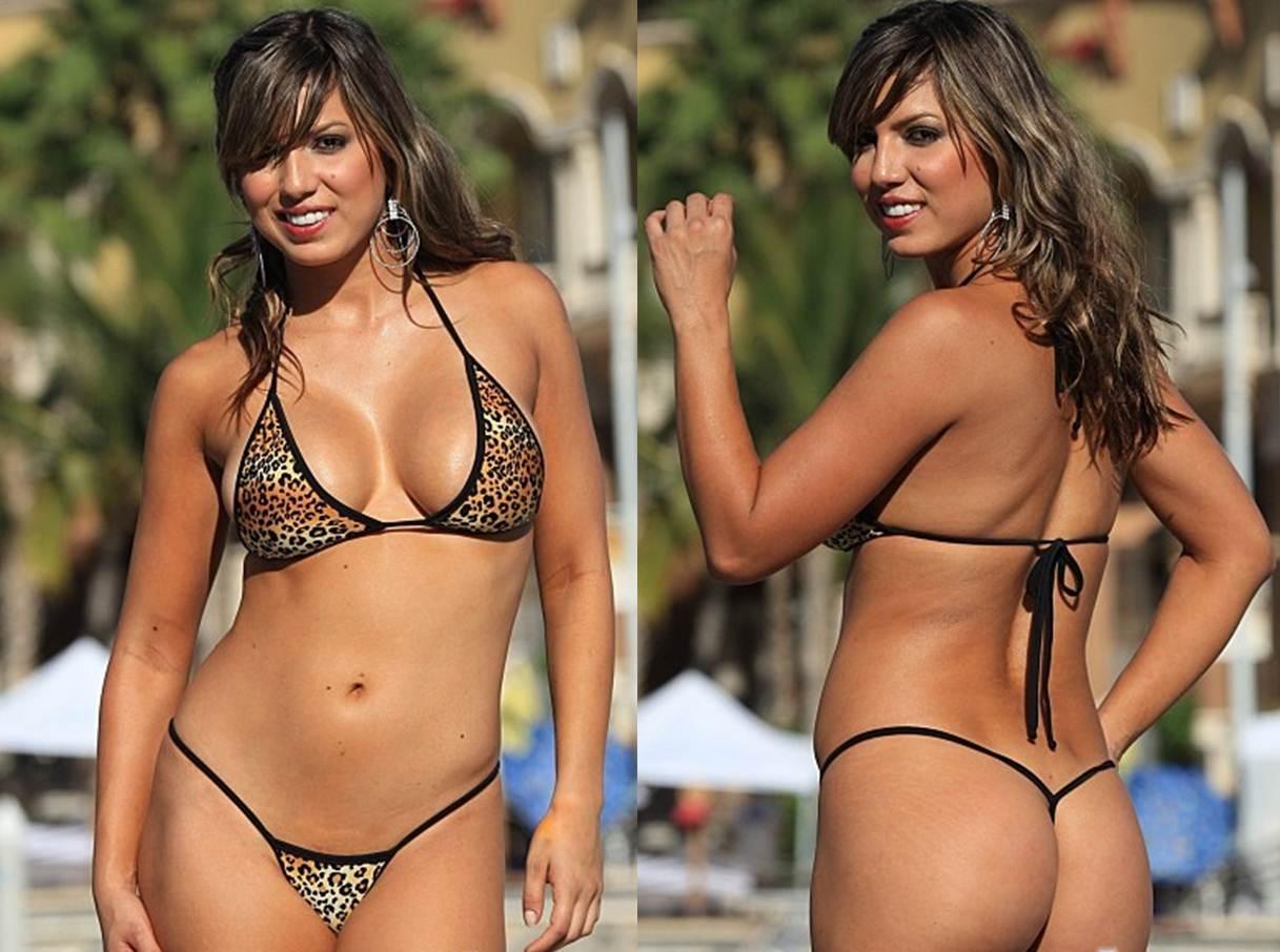 Finding the Right Thong Bikini as a Plus Size Women Aminal Print Leopard G String