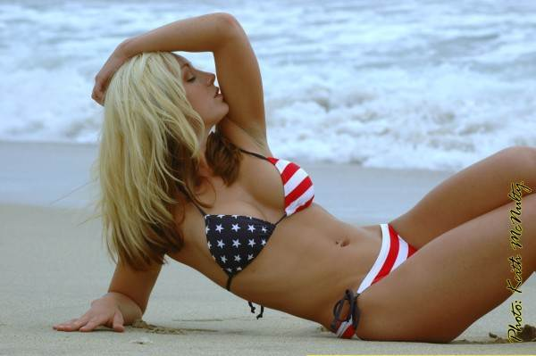 Patriotic Bikinis Sexy Bikinis