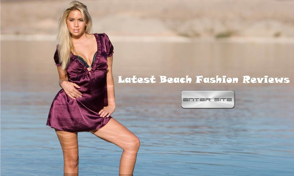 Keep up to date on the latest beach fashions news.