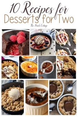 Small Of Dessert For Two
