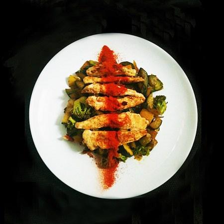 poulet paprika