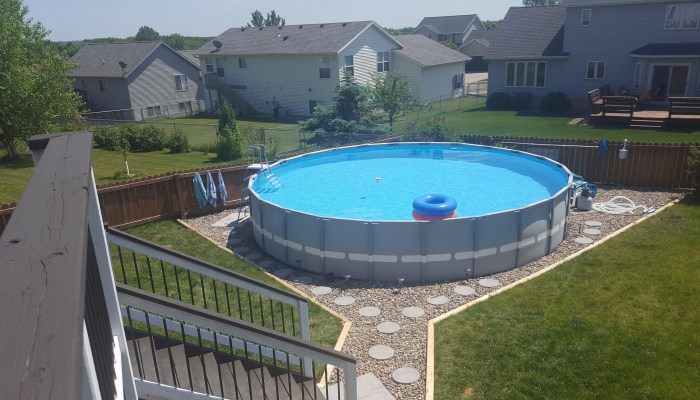Outdoor Oasis Part 2 – Intex Pool