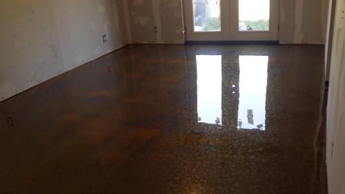 Medium Of Metallic Epoxy Floor