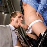 Office Affairs : Landon Conrad & Brandon Lewis @ FalconStudios.com