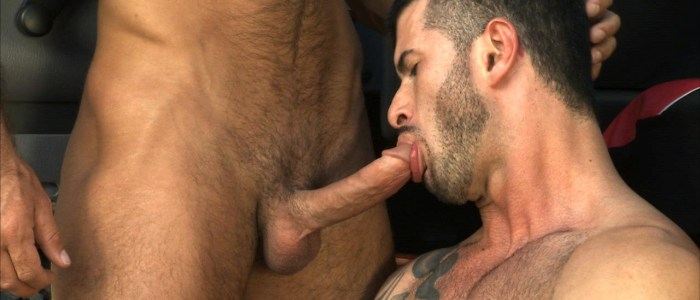 Overheated Scene 3 – Adam Killian, Cavin Knight and Damien Stone @TitanMen