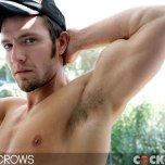 Kevin Crows Jerks Off All Day! @ Cockyboys.com