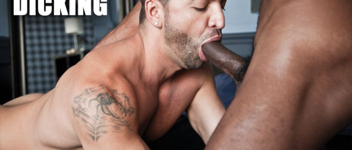 SEAN XAVIER'S BIG BLACK COCK RIPS APART DOMINIC PACIFICO
