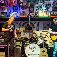 Big Will & the Bluesmen: Met eerbied voor de oude bluesmeesters
