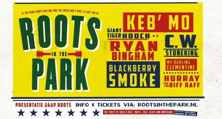 Roots in the Park Affiche