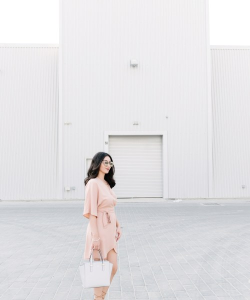 Misguided Wrap Dress