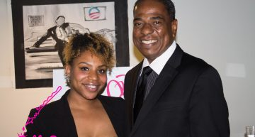Councilmember-at-large Vincent Orange at Raheem DeVaughn's LoveLife Foundation Launch.