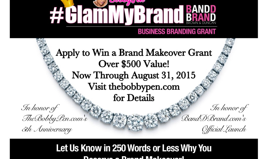 #GlamMyBrand Small Business Branding Grant [CONTEST]