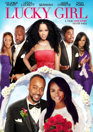 "Letoya Luckett & Columbus Short Star in ""Lucky Girl"" Digital Release"