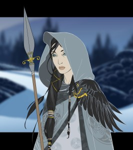 Juno, a character set to appear in the game.
