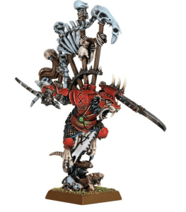 Queek Headtaker, model available at Games Workshop.