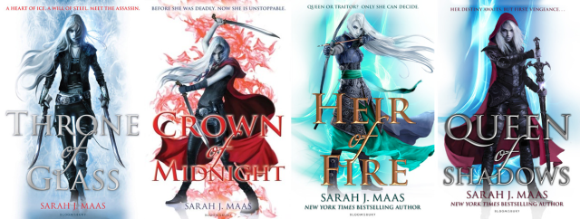 Throne of Glass UK Covers