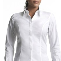 Instyle classic button-front shirt
