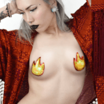 Fire Emoji Pasties