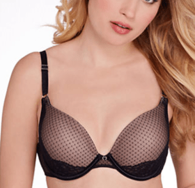Lily of France Ego Boost Lace Push Up T-Shirt Bra