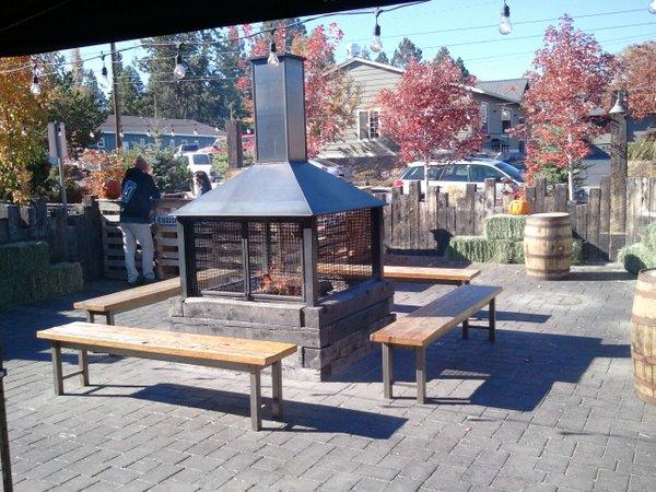10 Barrel patio