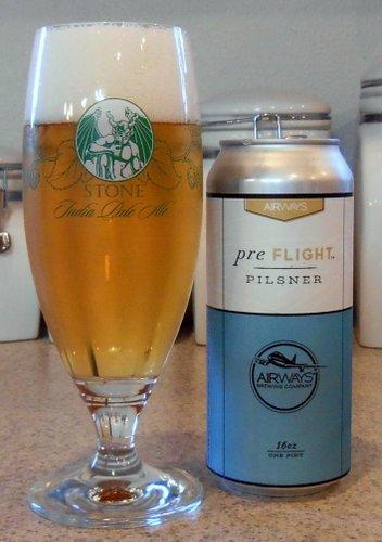 Airways Brewing Pre-Flight Pilsner