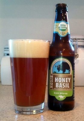 Bison Organic Honey Basil Ale