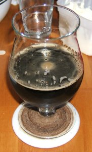 Ommegang Chocolate Indulgence (poured)