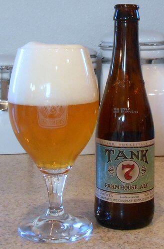 Boulevard Brewing Tank 7 Farmhouse Ale
