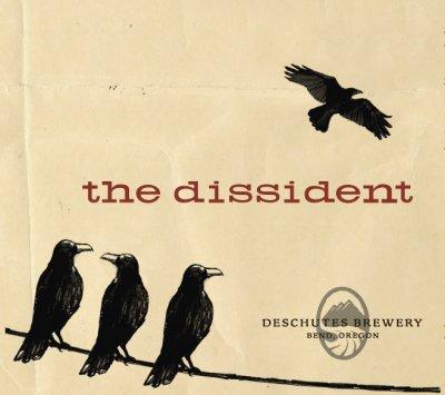 Deschutes' The Dissident label
